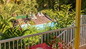 Holiday rentals in Bouillante, bungalow for 2 to 4 people - Guadeloupe
