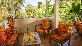 Bungalow Mussaenda, 4 to 6 people to rent in Bouillante - Guadeloupe