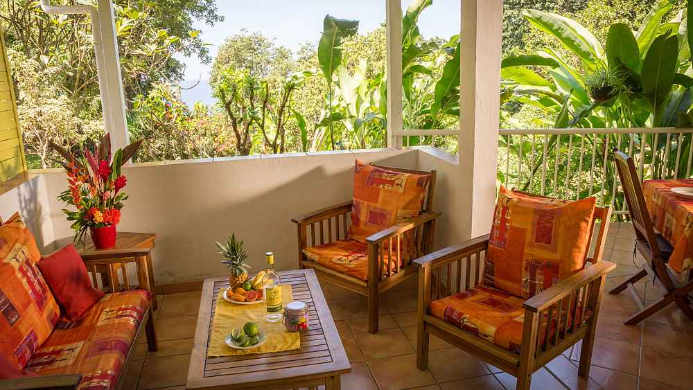 Bouillante Bungalows To Rent With Pool For Your Holidays In